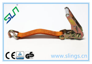 2017 Polyester Cargo Lashing with Hooks pictures & photos
