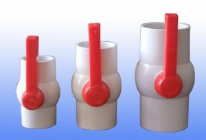 Sanipro Long Plastic PVC Valve Handle 4 Inch Plastic Ball Valve pictures & photos