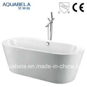 Oval Black Freestanding Bathtub (JL602) pictures & photos