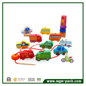 Colorful Intellectual Land Vehicle Wooden Toys pictures & photos