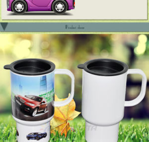 Freesub New Arrival American Hot Selling High Quality Sublimation Plastic Travel Mug with Photo Printing pictures & photos