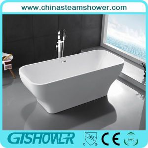 Acrylic Resin Rectangular Soaking Bathtub (KF-726B)