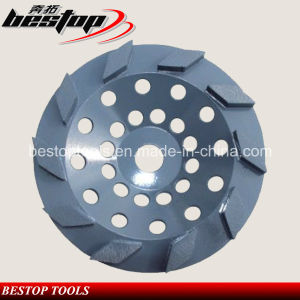 Stone and Concrete Grinding Wheel with Rhombus Segments pictures & photos