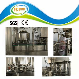 ISO9001 Automatic Pop Can Filling Machine pictures & photos