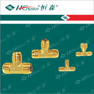 Standard Nut (3 ways) / Refrigeration Fittings/Brass Fittings pictures & photos