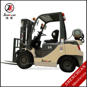 China Jeakue Brand 2t -2.5t LPG Forklift for Sale pictures & photos