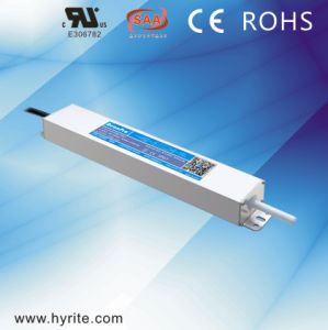 Hyrite Slim Aluminum Case Single-Output IP67 Outdoor Waterproof LED Driver with Ce, Bis pictures & photos