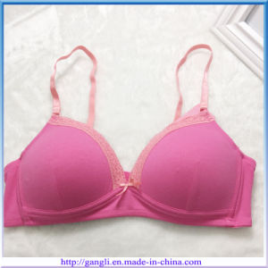 Hot Sale Anti-Microbial Fashion Lace Sexy Lady Underwear Bra