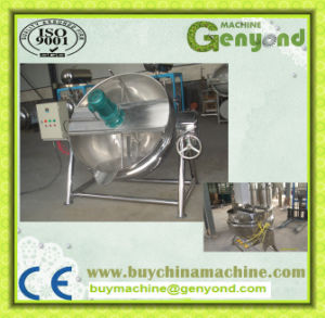 Full Stainless Steel Steam Jacketed Kettle pictures & photos