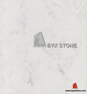 White Carrara Stone Quartz for Slab, Countertop, Tile pictures & photos