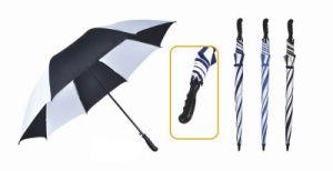 Manual Open Vented Golf Umbrella pictures & photos
