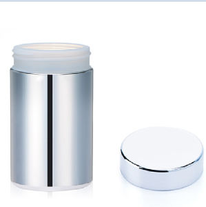 10 Oz/300ml Silver Chromed Medicine Plastic Container pictures & photos