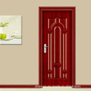 2015 New Red Spell Wood Steel Door (sx-3-2053) pictures & photos