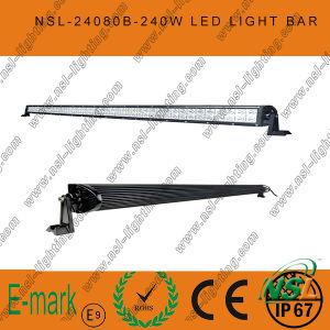 80PCS*3W 42inch LED Light Bar, Spot/Flood/Combo LED Light Bar for Trucks pictures & photos
