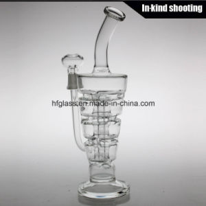 New 2017 Smoking Water Pipes Hitman Sundae Stack Glass Oil Rigs Bubbler 14.4mm Male Joint Glass Pipe pictures & photos