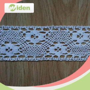 Fancy Pattern White Cotton Crochet Lace pictures & photos