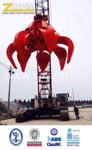 Steel Scrap Grab/Electric Hydraulic Orange-Peel Grab pictures & photos