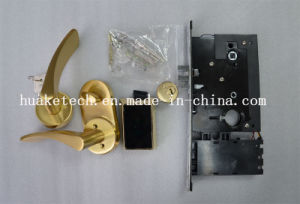 Elegent Design RFID Technology Door Lock with Split Handle and Card Reader pictures & photos