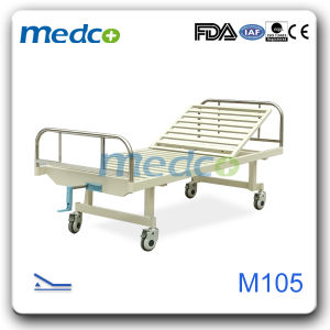Semi-Fower One Function Manual Hospital Bed pictures & photos