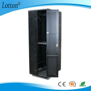 Black Color Standing Server Cabinet