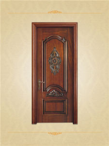 Carved Antique Cherry Wood Interior Doors