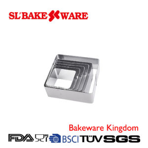 Stainless Steel Mousse Cake Ring Cake Tools (SL BAKEWARE)