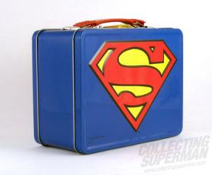 Superman Emblem Tin Lunch Box pictures & photos