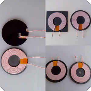 A11 Wireless Charger Winding Coil with Ferrite pictures & photos