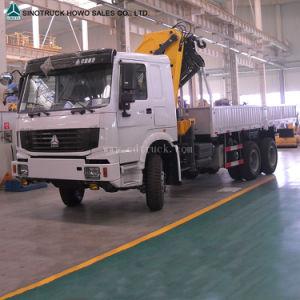 6X4 Sinotruk HOWO Cargo Arm Crane Truck pictures & photos