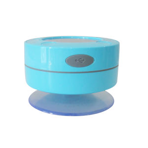 Temperature LCD Display Waterproof Wireless Bluetooth Shower Speaker pictures & photos