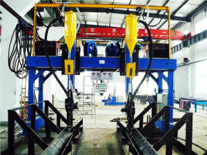 Hot Sale I/T/H Beam Steel Structure Automatic Welding Machine pictures & photos