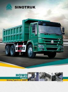 Popular Model HOWO Tipper of 6*4 Wd615.47 pictures & photos