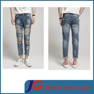 Sport Style New Men′s Designer Beggar Jeans (JC3387) pictures & photos