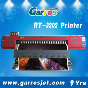 Garros 2heads Large Format Flag Polyester Sublimation Printing Printer Machine pictures & photos