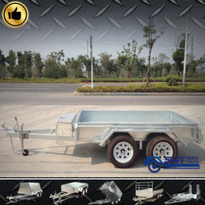 New Type Twin Axle Trailer for Machinery Transport pictures & photos