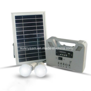 3 Years Warranty 6W Portable Smart Home Solar Power System pictures & photos