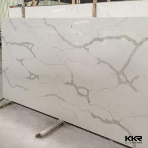 High Glossy Artificial Stone Carrara Quartz Stone Slab pictures & photos