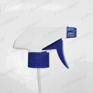 White Plastic Hand Trigger Spray Head for Bottle pictures & photos