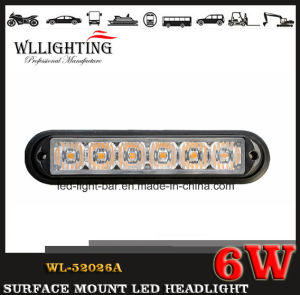 LED Surface Mount Headlight 6W Wl-52026A (LED-LIGHT-BAR) pictures & photos