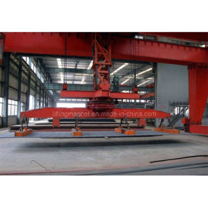 Rectangualr Type Lifting Magnet Crane for Steel Plate pictures & photos