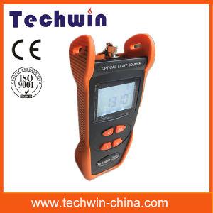 Techwin Optical Fiber Network Tester Tw3109e Lightsource pictures & photos