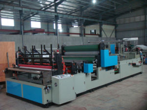 High Quality Rewinding Kitchen Paper Roll Processing Machine Low Price pictures & photos