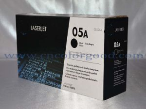 Ce505A / 05A Black Laser Toner for HP Original Cartridge pictures & photos