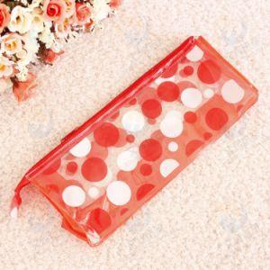 Hot Sale Plastic Beautiful PVC Pencil Bag with Zipper pictures & photos
