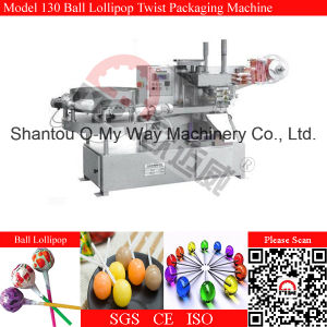 Automatic Feeding Single Twist Rould Lollipop Wrapping Machine pictures & photos