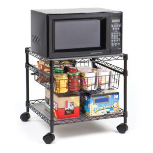 Chrome Metal Wire Corner Kitchen Shelf Rack with NSF Approval pictures & photos