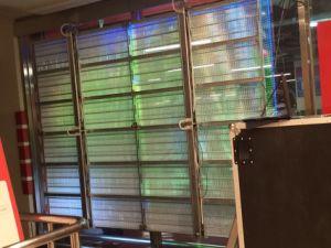 P7.5 Transparent LED Display Indoor Transparent Big Building Video Wall Display pictures & photos