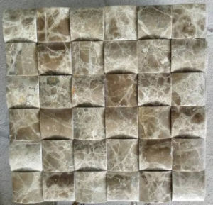 3D Mosaic Tile Stone Marble Mosaic (HSM215) pictures & photos