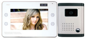 8 Inch Hands Free 4 Wires or 2 Wires Color Video Door Phone