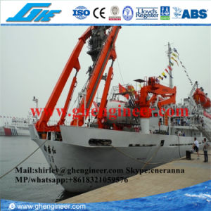 Hydraulic a Frame Crane for Science Research Ship pictures & photos